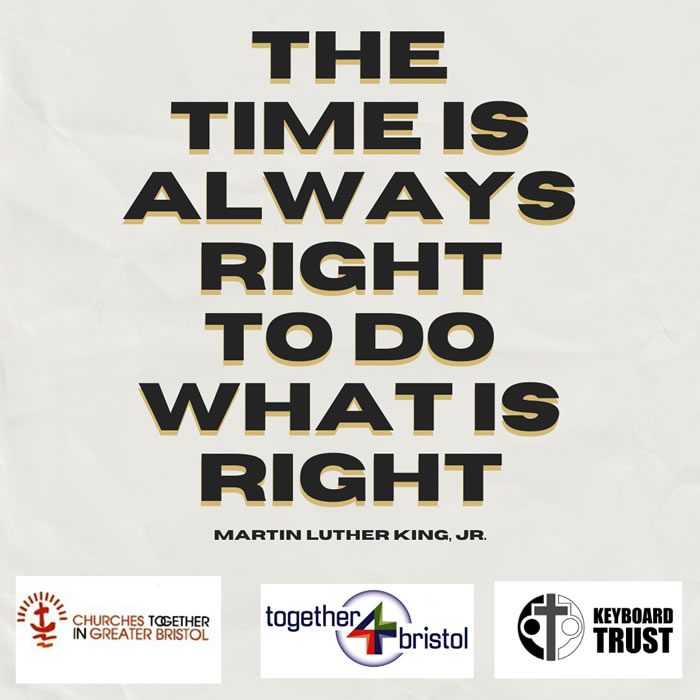 Quote The Time is Always MLK 7